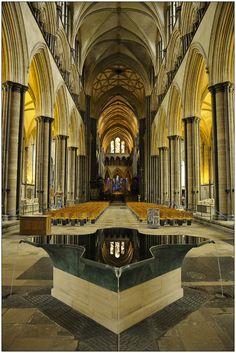 Salisbury Cathedral, Baptismal Font