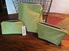 Zipper Bag Make Up Bag Cosmetic Bag Beauty Bag Large Cosmetic Bag Apple Green…