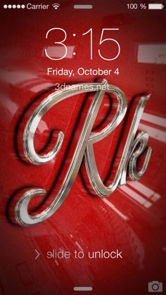 Preview Of Car Paint For Name RK