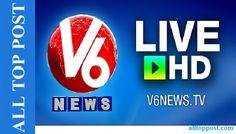 Telugu Live News by V6 - Telugu News Channel Live TV