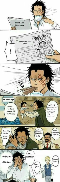 Luffy Father