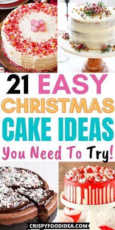 Christmas Dinners, Christmas Desserts Easy, Christmas Snacks, Xmas Food, Christmas Cakes, Christmas Breakfast, Desserts To Make, Christmas Cooking, Christmas Svg