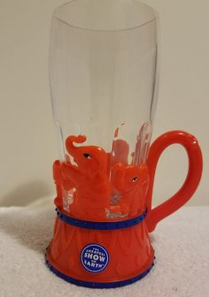 Ringling Bros Brothers Circus Light Up Plastic Collectible Souvenir Cup #RingingBrothers #elephants #collectibles