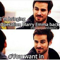 Lol I'm sure he does :'D Hook, U funny