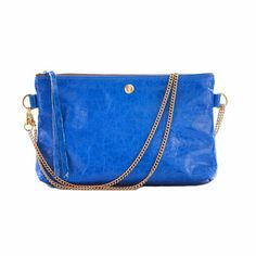 The Made in USA Corrente Joey is a convertible cross body pouch made out of high quality genuine leather.  To see more Made in USA Women's Cross Body Bags, visit Product Roundup at Sweet Brands of Liberty:  http://www.sweetbrandsofliberty.com/roundup-womens-cross-body-bags/