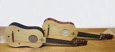 A Fine Pair - Vihuelas made by Alfonso Marin Lutemaker