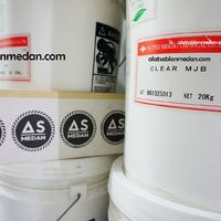 Tinta Sablon Kaos Matsui Bright Rubber Clear Mjb Pail 20kg