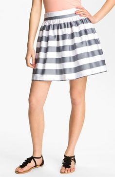 Necessary Objects Sateen Full Skirt (Juniors) available at Nordstrom