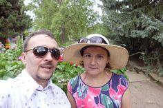 С Леной на Иссык-Куле