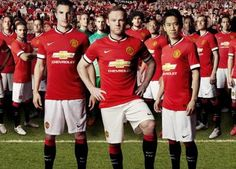 Manchester United Unveil 2014/15 Nike Home Kit and New Shirt Sponsor