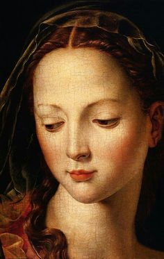 Agnolo Bronzino ( 1503 - 1572 ) detail of The Madonna and Child with the Infant St. John the Baptist. Renaissance Kunst, Renaissance Paintings, Italian Renaissance, Madonna And Child, John The Baptist, Sacred Art, Christian Art, Religious Art, Beautiful Paintings