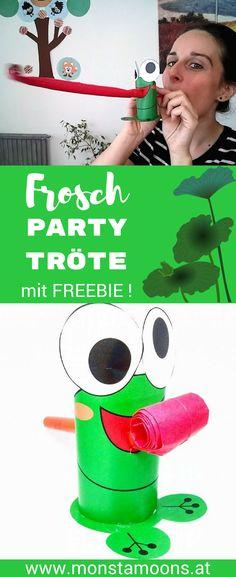 Verrückte Froschtrompete für Party und Co