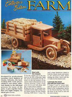projeto de um caminhão de fazenda:                                                           Nota: para se fazer uma copia dos anexos, sugir...