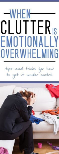 When Clutter is Emotionally Overwhelming - Tips & Tricks for How to Get it Under Control! Do you dream of a clutter-free home, but struggle with organization and emotional attachment? Then we're here to help you!