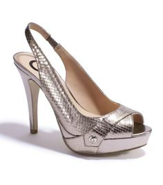Snake skin heels by GUESS - looks like another a must have GUESS CABELLE
