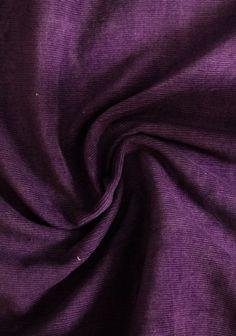 Velours Babycord violet