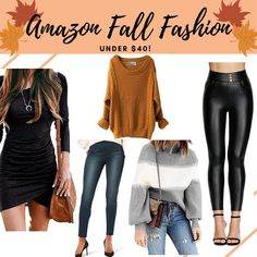Affordable fall fashion with amazon! Best amazon fashion finds for less than 40! #amazonfashion Fashion Sale, Fall Fashion Trends, Autumn Fashion, Outfit Posts, Outfit Ideas, Fall Outfits, Cute Outfits, Best Amazon, Drugstore Beauty