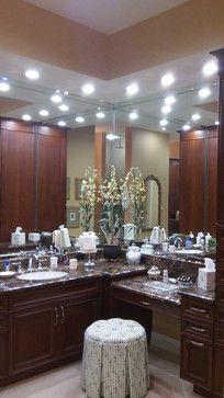 Makeup Vanity Ideas | Vanity+Make-up Area+Master Bath+Formal+L Design Ideas, Pictures ...