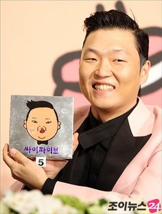 PSY,  He is the face of Korea at the moment.  His Youtube generated success is just  insane ~~.   Well, big congratulations to him as we Koreans know how talented and professional he has been.