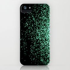 infinity in mint green iPhone Case by Marianna Tankelevich - $35.00
