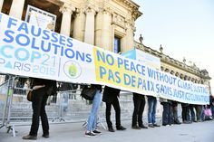 Government negotiators in Paris are looking at banal details of how and when countries should commit to improving their voluntary pledges