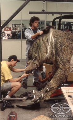 """See how """"The Relic"""" monster, Kothoga, came to life at Stan Winston Studio, from design to sculpture, molding, mechanics, painting & rehearsal."""
