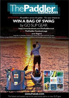 Win a bag of swag from GO SUP GEAR!