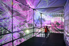 Gallery - UNSTABLE's P-Cube Illuminates VDNKh Park in Moscow - 5