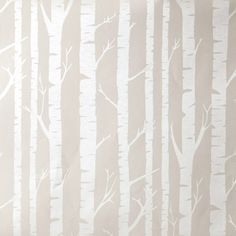 Caselio Tapete Baumstämme beige/perlmutt 'Oh La La' bei Fantasyroom online kaufen Beige Wallpaper, Nursery Wallpaper, Tree Wallpaper, Tapete Beige, Diy Tapete, Diy Tree Painting, Gypsy Home, Star Wars Room, Fantasy Rooms