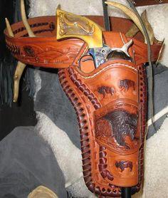 Cowboys and guns.