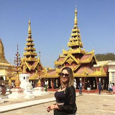 Shwezigon Pagoda is the most sacred Buddhist pagoda in Myanmar, as it's believed to contain relics of the four previous Buddha. 📍Bagan 🇲🇲 #Pagoda #bagan #Myanmar #asiatrip #sunnyday #travel #travelblog #travelblogger #travelgram #wanderlust #nextstop #traveladdict #traveldiary #travelgirl #travelphotography by (karolfreire) travelgirl #nextstop #travel #travelgram #asiatrip #bagan #traveladdict #pagoda #myanmar #travelblogger #traveldiary #wanderlust #sunnyday #travelblog…