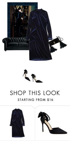 """Wrapped in velvet"" by theitalianglam ❤ liked on Polyvore featuring velvet and trends"