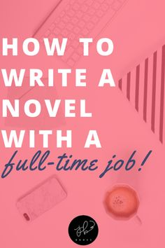 Let's just get one thing straight: writing a novel is hard work. You will never have enough time to write. You have to make the time to write! Here, I will teach you a few key strategies that I used myself to finish my novel with a full-time job. Writer Tips, Book Writing Tips, Writing Jobs, Fiction Writing, Writing Help, Writing Prompts, Writing A Novel, Writing Kids Books, Writing Humor