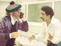 Gene Wilder & Richard Pryor, 1976