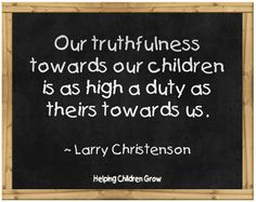 Helping Children GROW: Truthfulness