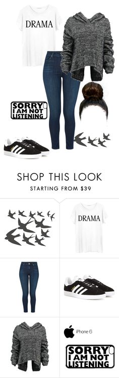 """""""Make Em Whistle Like A Mistle"""" by amazocat ❤ liked on Polyvore featuring ADZif, Junk Food Clothing, J Brand, adidas Originals and Taylor"""