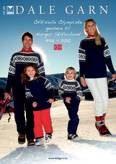 Ravelry: Dale of Norway / Dalegarn Offisielle Olympiske Gensere til Norges Skiforbund Knitting Books, Vintage Knitting, Knitting Yarn, Knitting Patterns, Sweater Patterns, Norwegian Knitting, Fair Isle Pattern, Yarn Store, Fair Isle Knitting