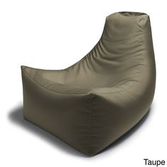 Enjoy relaxing indoors or outdoors with the Jaxx Juniper eco-friendly bean bag chair. This outdoor bean bag chair features a durable all-weather bottom that allows it to hold up on abrasive surfaces s