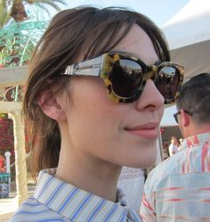 ef58d30afa Gracious  AlexaChung is impeccable with her Northen Lights  shades from   KarenWalker. Click