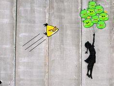 Angry Banksy