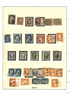 United States Collections U.S., Astounding Mint & Used Collection, 1847-2000. Presented for your viewing pleasure, in six volumes, better mint with 10X1, 10X2, 3,4, 242, 278 block of four, 279Bc block of four, 357-358, 479, 480, White Plains sheet, Kansas-Nebraska issue complete, C13-C15, E2, used includes 1, 2, 9 with red cancel, 10, 19b with PF 2016 certificate, 29, 38, 79 with 2004 APEX certificate, 124, 125, 128, 130-132, large Bank Notes with better cancels, excellent selection of…