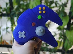 3D N64 Controller parody handmade Soap  Novelty gift by NerdySoap