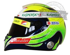 Felipe Massa 2013 F1 Replica Helmet Scale 1:1