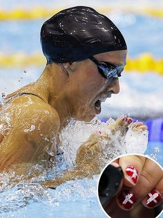 Olympics, Olympic Swimming: Nails : People.com#21192950