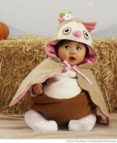 Who'll be the cutest trick-or-treater? Your little owl!