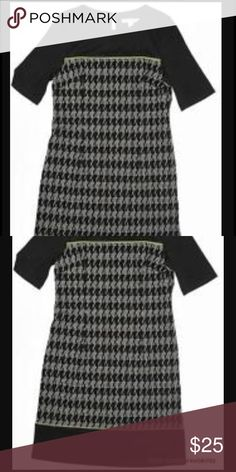 Madison Leigh houndstooth dress. Size 14 worn once Madison Leigh houndstooth dress. Size 14. Worn once madison leigh Dresses Midi