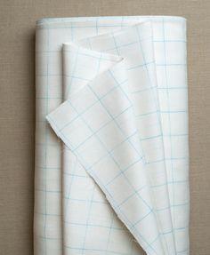 Love the aqua graph paper derivation. soho | products | item | linen grid (purl soho)