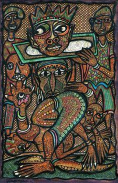 Twins Seven-Seven, Nigerian artist