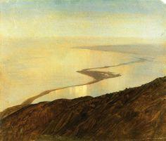 Frederic Edwin Church – A Coast Line  in Jamaica, 1865