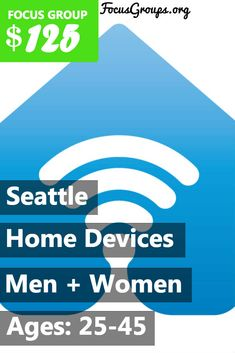 Northwest Insights is looking for 25-45 year old men and women who have both a smart home device (like an Amazon Echo, Google Home, Apple HomePod, etc.) and a personal activity monitor (like a GarminVivosmart, Samsung Gear Fit, Apple Watch or Fitbit). We're trying to learn more about how people manage their overall well-being day-to-day.If selected, you'll participate in a 75-minute interview and receive $125 for your time. If you are interested in participating, please sign up and take the…